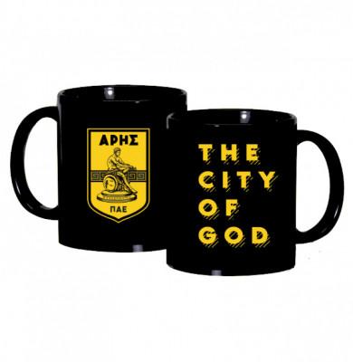 Κούπα πορσελάνης THE CITY OF GOD 11oz