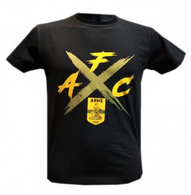 T-shirt man AFC μαύρο