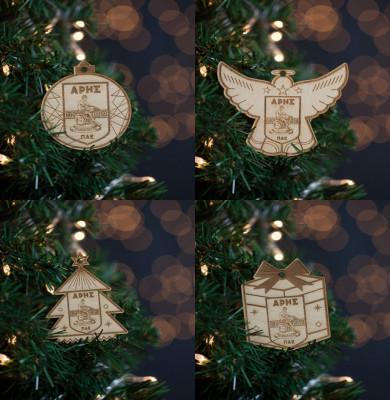 ΣΕΤ 4 Χριστουγεννιάτικων Στολιδιών ΑΡΗΣ
