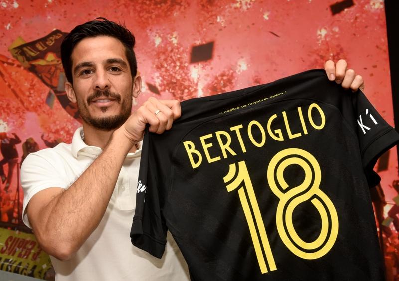 Ο Facundo Bertoglio στον ΑΡΗ! - Ανακοινώσεις - News